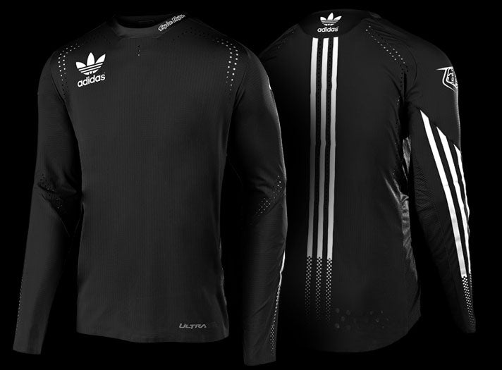 Troy Lee Designs Ultra Adidas long-sleeve jersey - Black