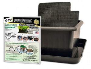 Metro Grower Basic - 6 gallon container kit. Sub-irrigation watering system