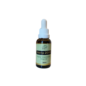 Hemp 2000 Topical Concentrated Hemp Oil - 30ml