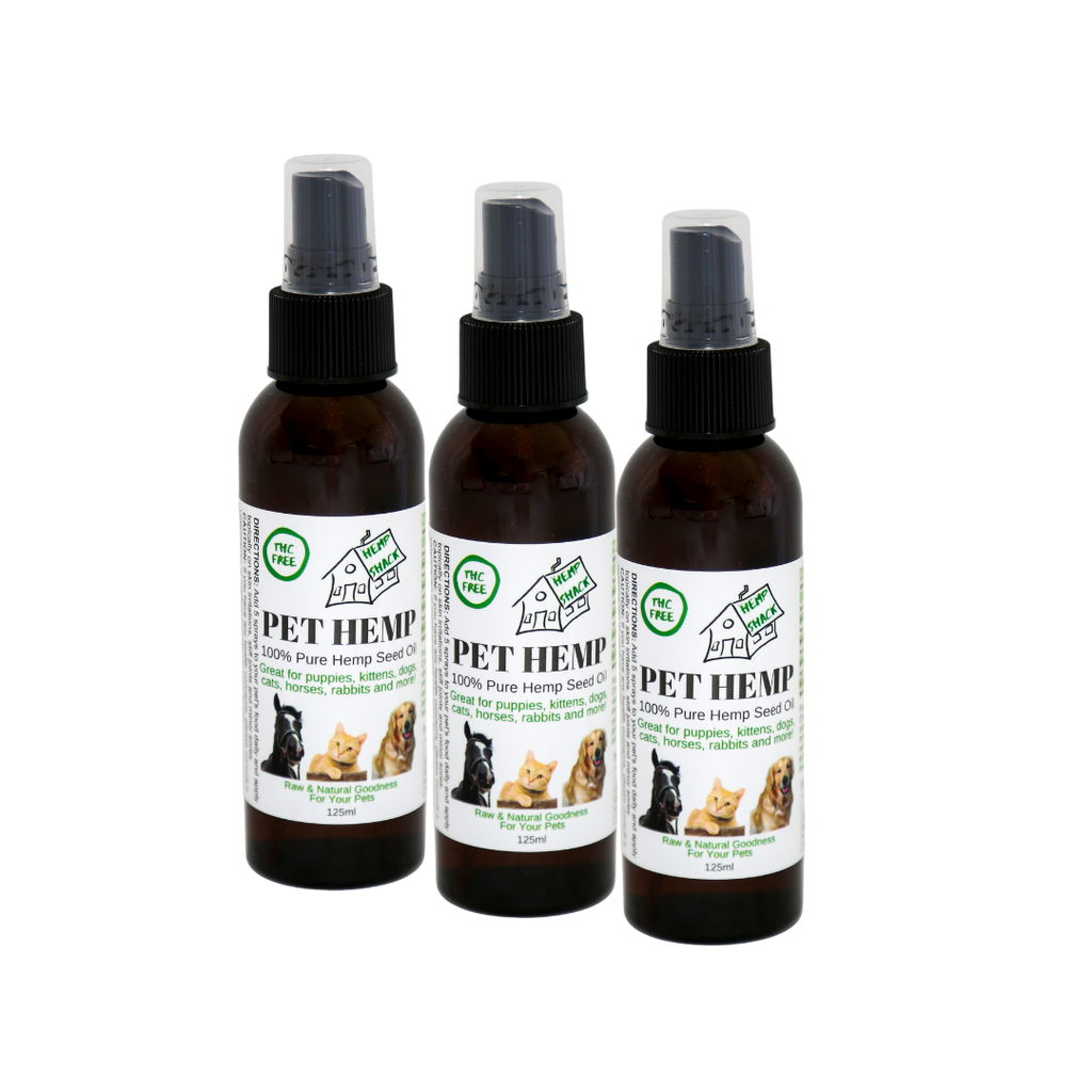 Bundle & Save! Pet Hemp Spray Trio - 3 x 125ml