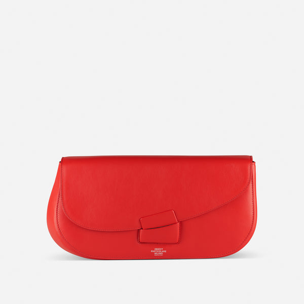 BRERA CLUTCH RED