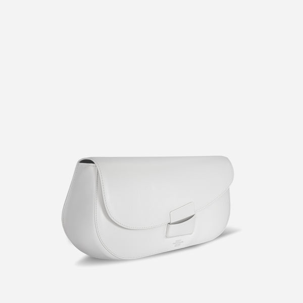 BRERA CLUTCH WHITE