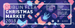 Dublin Flea Christmas Market - only place in town with trustwordie cards