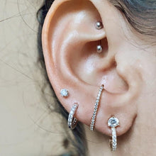 Load image into Gallery viewer, EVA Mini T Bar Earring