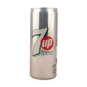 PMART.PK-PAKISTAN MART- ONLINE GROCERY STORE DRINKS 7up Free 250ml Tin