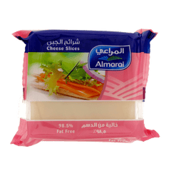 Alfatah DAIRY Almarai Fat Free Cheese 10 Slices 200 gm
