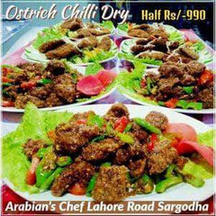 ARABIAN'S CHEF ARABIAN'S CHEF ARABIAN'S CHEF - Ostrich Chilli Dry Half