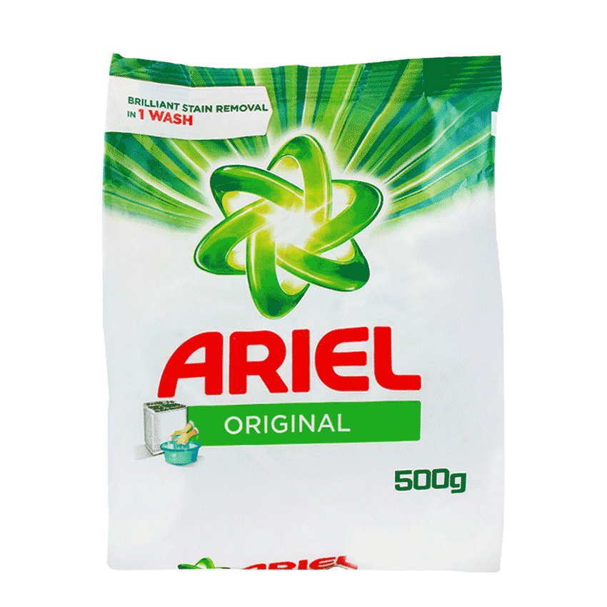 Alfatah LAUNDRY Ariel Washing Powder Original Perfume 500 gm