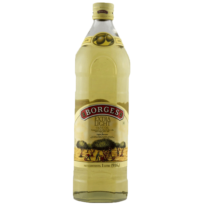 Alfatah COOKING OIL Borges Extra Light Olive Oil 1 ltr