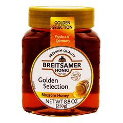 Alfatah JAM & PICKLE Breitsamer Golden Selection Blossom Honey 250 gm