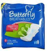 PMART.PK-PAKISTAN MART- ONLINE GROCERY STORE Women Items Butterfly Large 8 ps