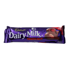 Alfatah SNACKS Cadbury Dairy Milk Chocolate Fruit & Nut 38 gm