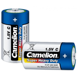 PMART.PK-PAKISTAN MART- ONLINE GROCERY STORE Household Essentials Camelion Super Heavy Duty - 1.5V type C (Pack of 2)