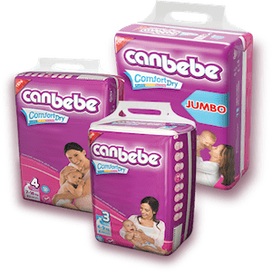 PMART.PK-PAKISTAN MART- ONLINE GROCERY STORE Baby Items Canbebe Midi 62 pcs (Size 3) (4 - 9 Kg)