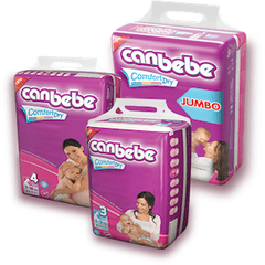 PMART.PK-PAKISTAN MART- ONLINE GROCERY STORE Baby Items Canbebe Xtra Large 24 pcs (Size 6)  (16+  Kg)