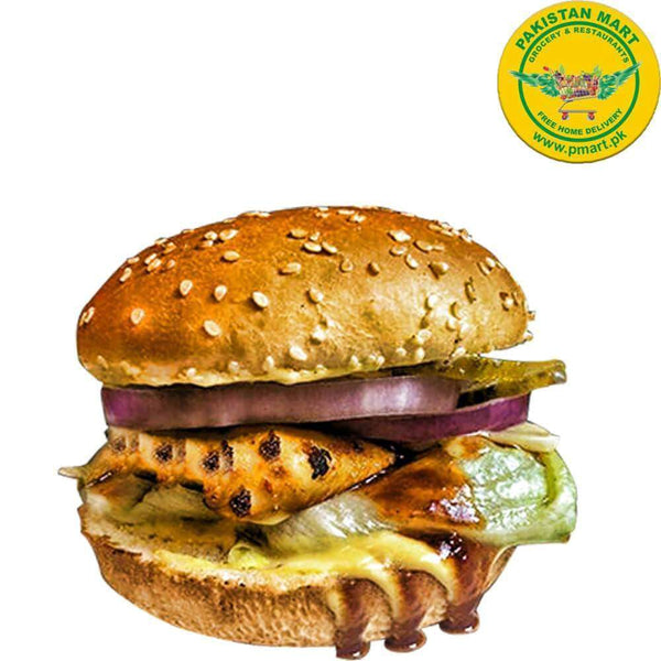 Chicken Broast Chicken Broast Chicken Broast - BBQ Burger