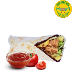 Chicken Broast Chicken Broast Chicken Broast - Crispy Bar BQ Wrap