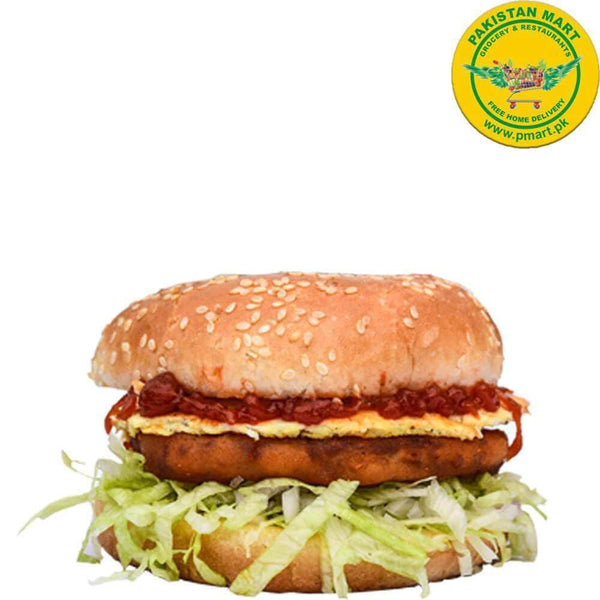Chicken Broast Chicken Broast Chicken Broast - Egg Classic Burger