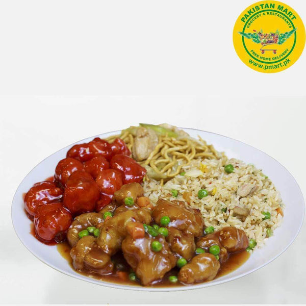 Chicken Broast Chicken Broast Chicken Broast - Hot Garlic Chicken with Rice (Bowl)