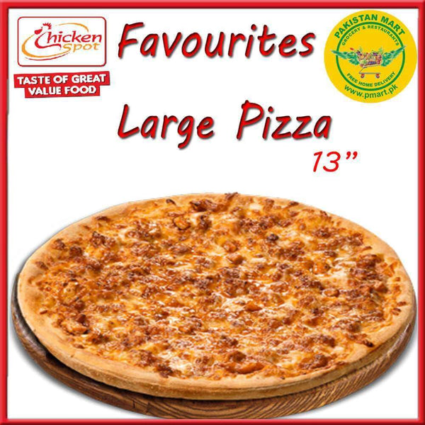 Chicken Spot Chicken Spot Chicken Spot – Favourites Large Pizza * 13 inch