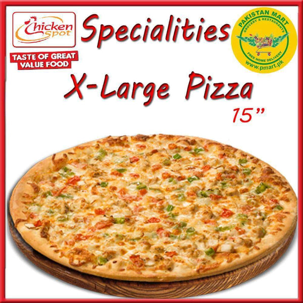 Chicken Spot Chicken Spot Chicken Spot – Specialities Extra Large Pizza * 15 inch