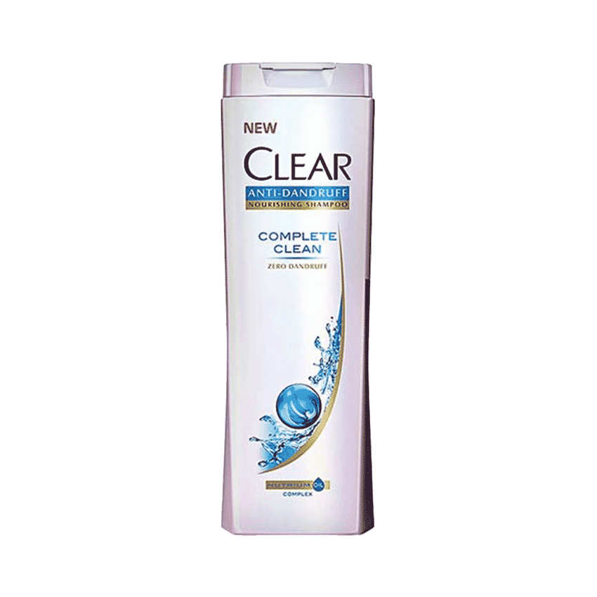 Alfatah BATH ITEMS Clear Shampoo Anti-Dandruff Complete Clean 400 ml