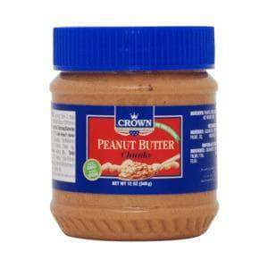 PMART.PK-PAKISTAN MART- ONLINE GROCERY STORE jams-spreads Crown Peanut Butter Chunky 340gm