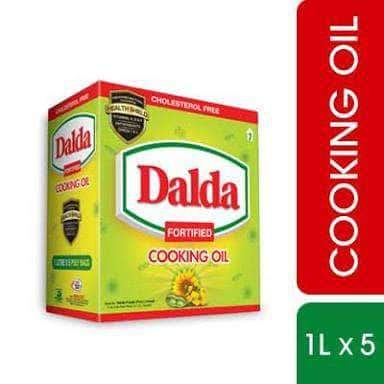 PMART.PK-PAKISTAN MART- ONLINE GROCERY STORE cooking-oil Dalda Cooking Oil Box 1x5
