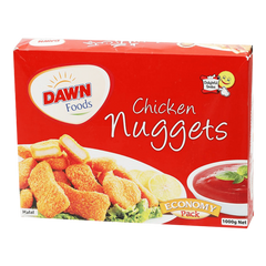 Alfatah FROZEN FOOD Dawn Chicken Nuggets (Economy Pack) 1000 gm