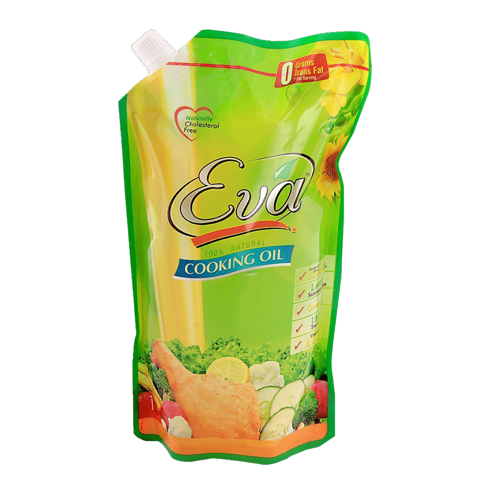 Alfatah COOKING OIL Eva Cooking Oil Pouch 1 ltr