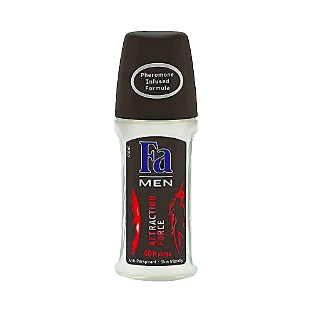Alfatah MEN ITEMS Fa Roll On For Men Attraction Force 50 ml
