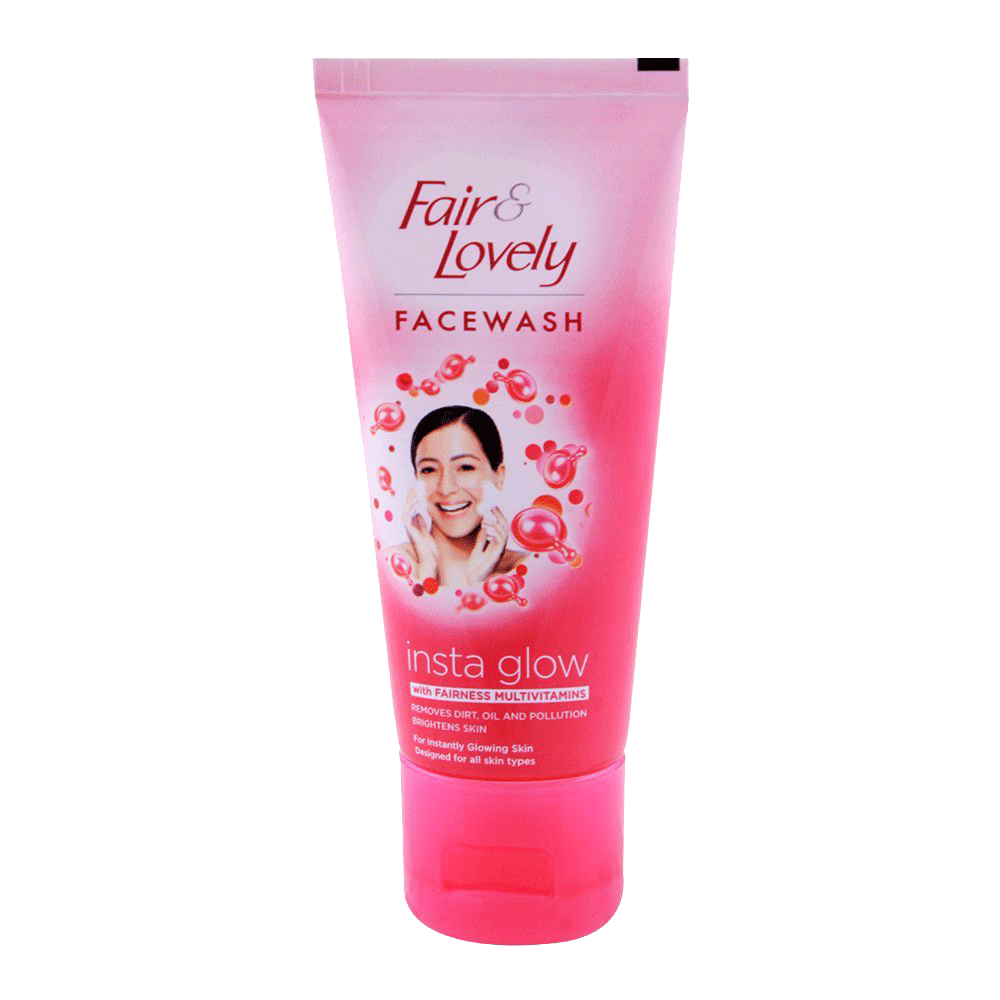Alfatah cosmetic Fair & Lovely Face Wash Insta Glow 50 gm