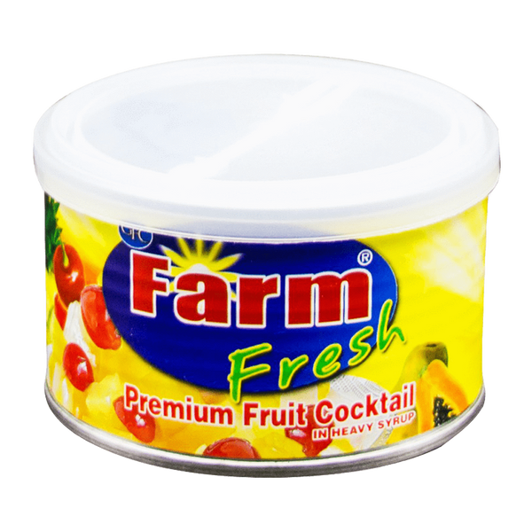 Alfatah Canned Food Farm Fresh Fruit Cocktail In Heavy Syrup 234 gm