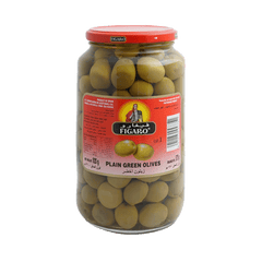 PMART.PK-PAKISTAN MART- ONLINE GROCERY STORE jams-spreads Figaro Olives Plain Green 920 gm