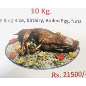 nawab Nawab Filling Rice, Batairy, Boiled egg, Nuts