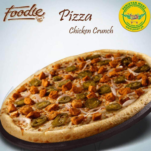 Foodie Foodie Foodie - Chicken Crunch Pizza