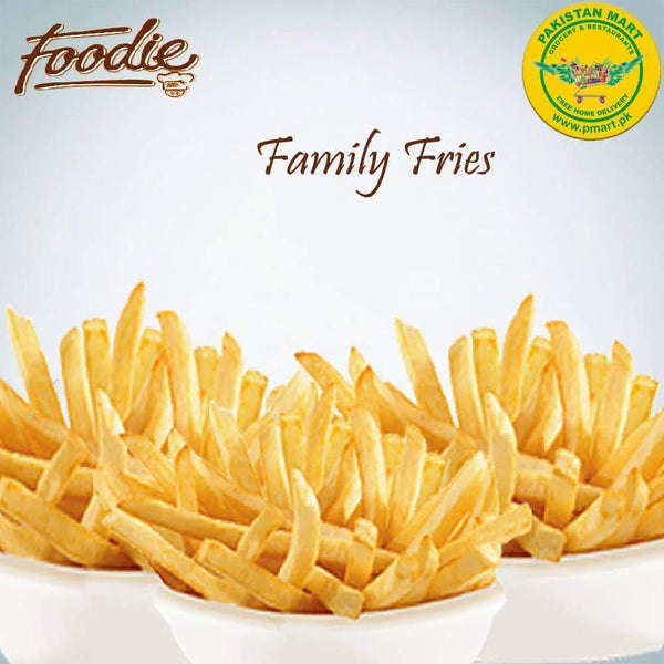 Foodie Foodie Foodie - Family Fries *1