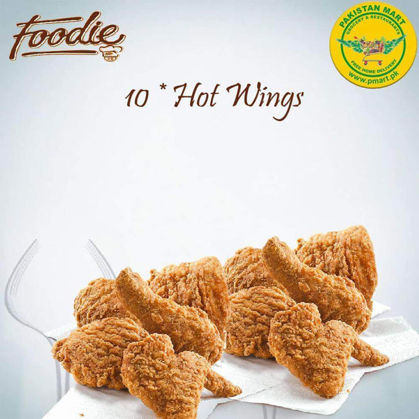 Foodie Foodie Foodie - Hot Wings * 10 Pcs