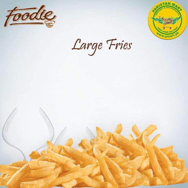 Foodie Foodie Foodie - Large Fries * 1