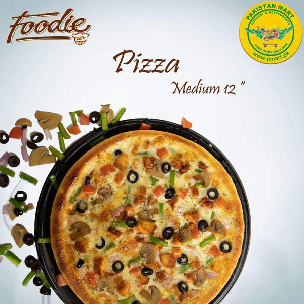 Foodie Foodie Foodie - Medium Pizza * 12""
