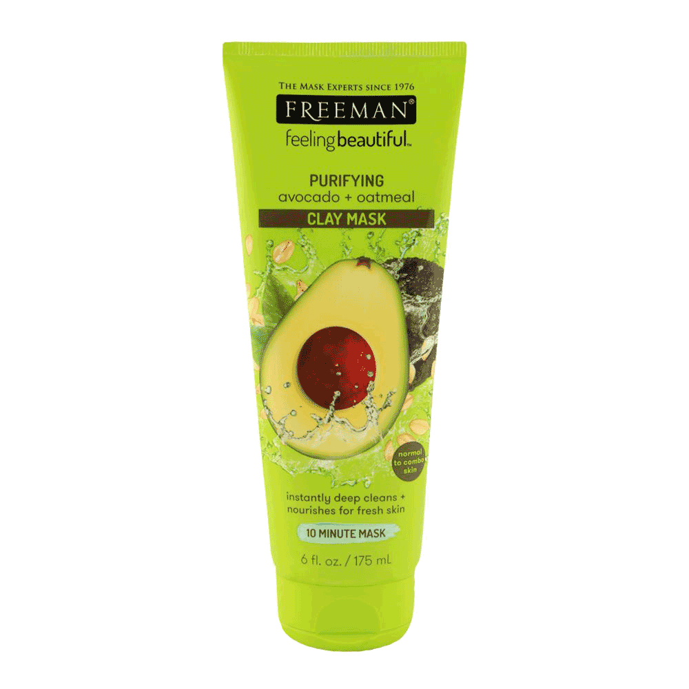 Alfatah cosmetic Freeman Facial Mask Clay Avocado And Oatmeal 175 ml