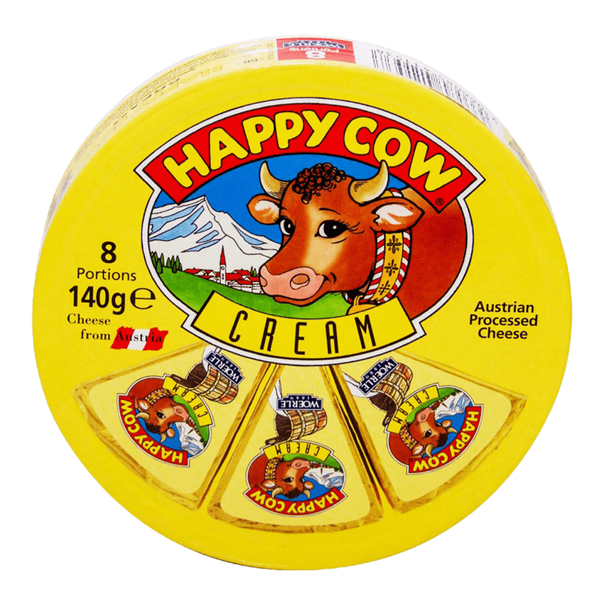Alfatah DAIRY Happy Cow Cream 8 Portions 140 gm