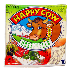 Alfatah DAIRY Happy Cow Mozzarella Cheese 10 Slices 200 gm