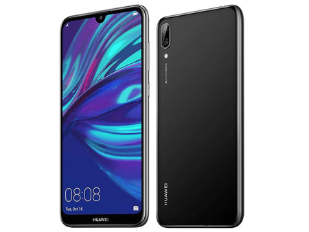 Huawei Mobile Phone Huawei Y7 Prime 2019 (3G, 64GB, Midnight Black) With Official Warranty