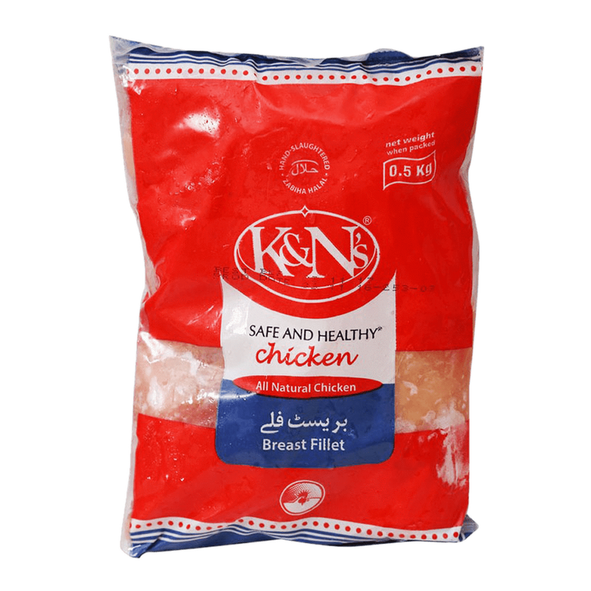 Alfatah FROZEN FOOD K&N's Breast Fillet 500 gm