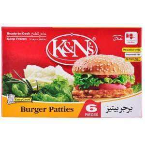 PMART.PK-PAKISTAN MART- ONLINE GROCERY STORE FROZEN FOOD K&n's Burger Patties New 400g
