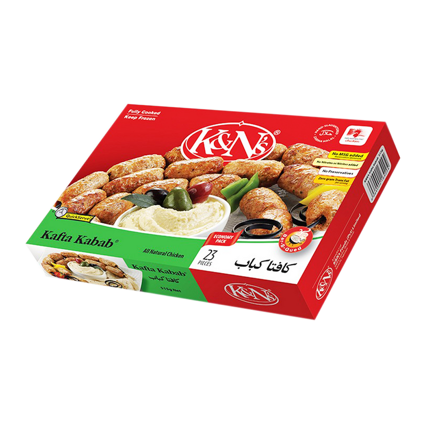 Alfatah FROZEN FOOD K&N's Kafta Kabab 23 Pcs 515 gm