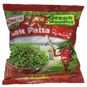 PMART.PK-PAKISTAN MART- ONLINE GROCERY STORE PACKED ITEM Knorr chatt patta noodles (new green Noodles)