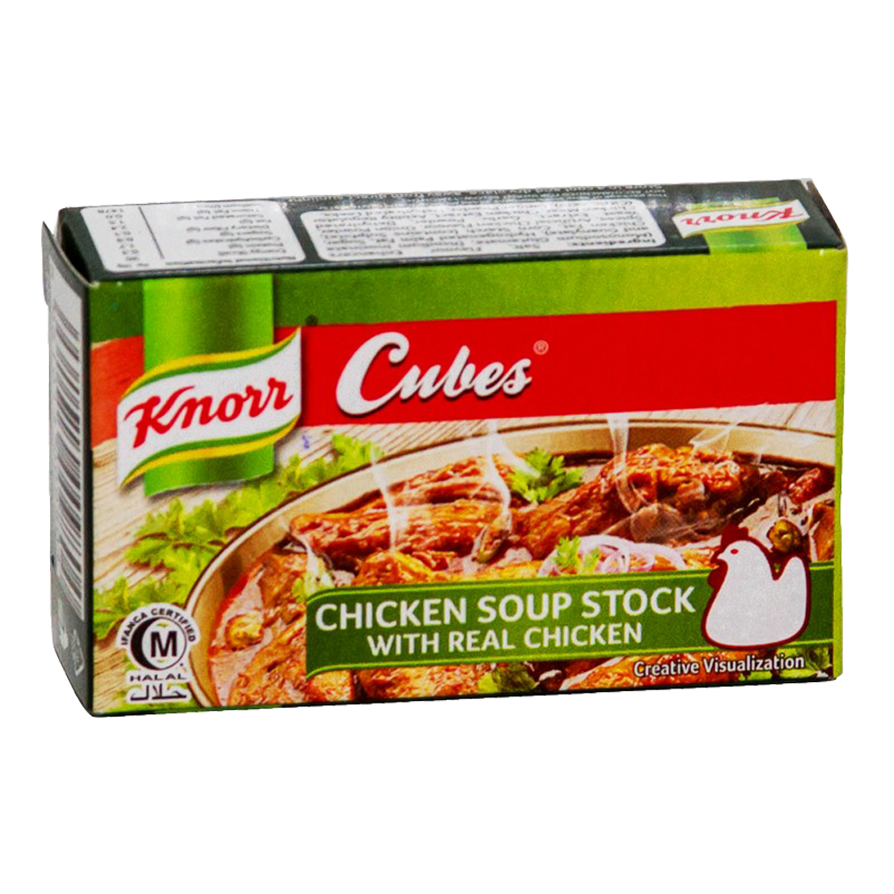 Alfatah KITCHEN ITEMS Knorr Cubes Chicken Soup Stock 20 gm