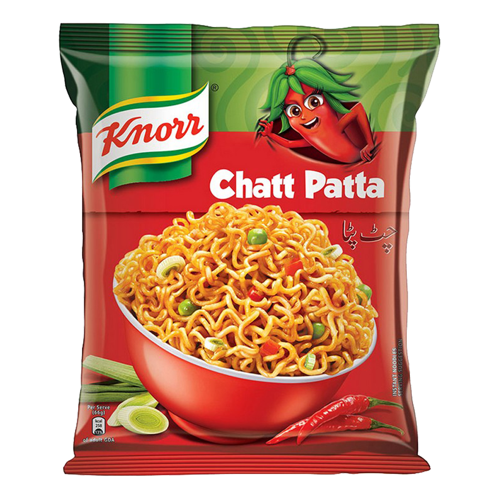 Alfatah PACKED ITEM Knorr Noodles Chatt Patta 66 gm